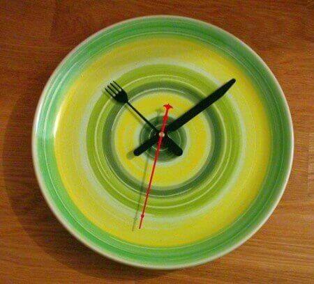 обед по рассписанию