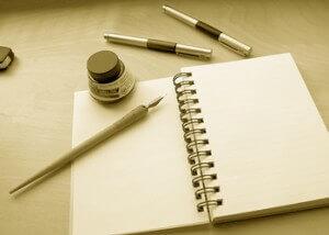 с чего начать писать