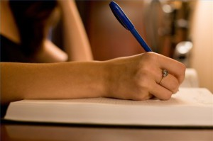 процесс написания